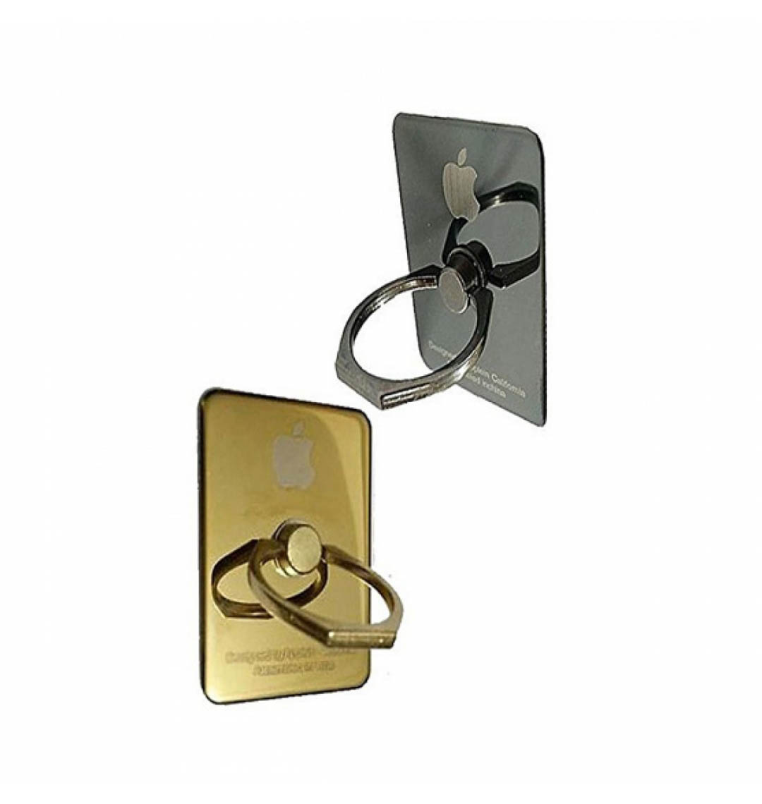 Stainless Steel Mobile Ring Holder (Gold) Iphone