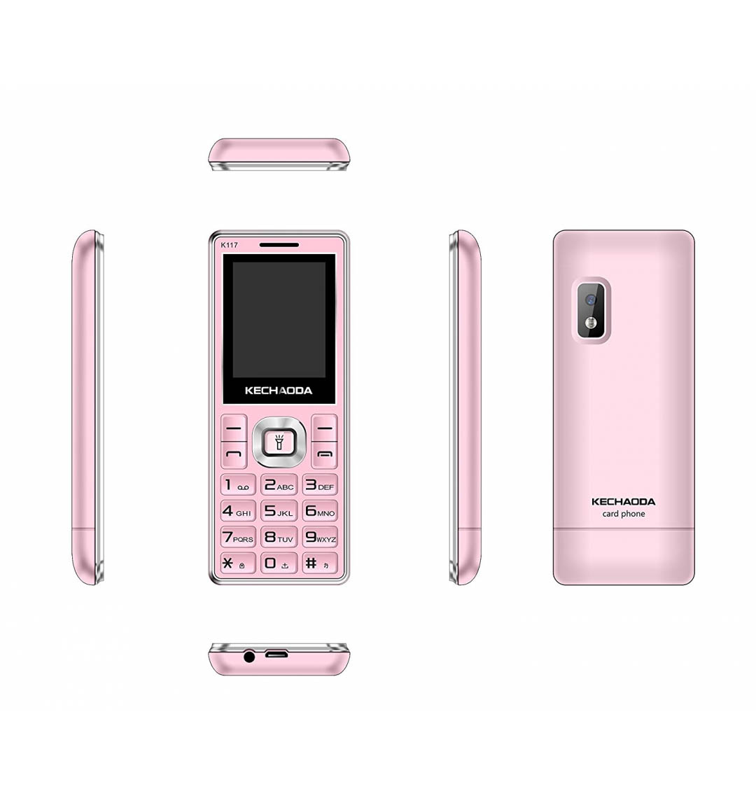 kechaoda k33 card phone camera with flash bluetooth dialler mini phone new(Grey,Gold,Rose Gold)