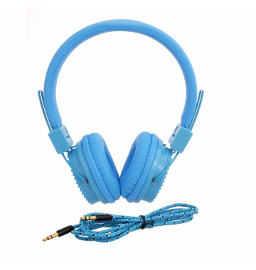 INEXT IN-903HP HIGH Quality Wired Headphones(Blue Over The Ear)