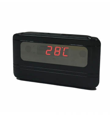 HD 1080P Spy Hidden Camera Clock IR Night Vision Motion Detection