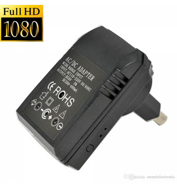 1080p Spy Secret HD Charger With Night Vision ( With remote )