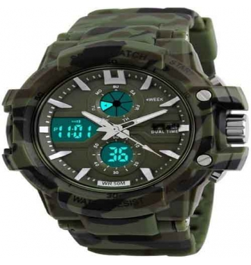stylish Wrist watch Army Green