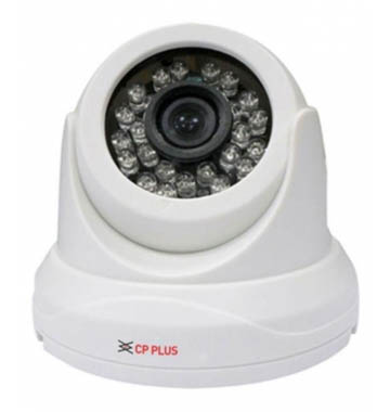 CP PlusCctv Night Vision Dome White 2 Mp Camera