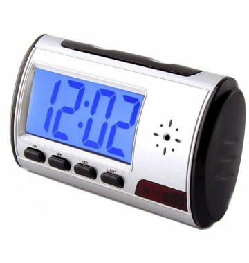 Table clock CAMERA Mini Digital Camcorder Video Small Security 720p