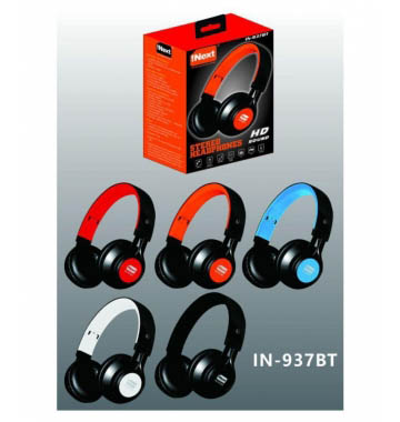 iNext IN-937BT Universal Wired Headphone with in-Built Omni-Directional mic