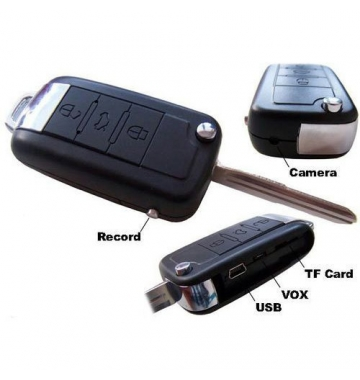 UniZoom BMW Car Key Ring Spy Camera with up to 16gb Expandable Memory