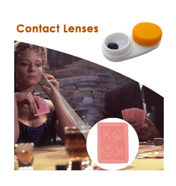 Spy Invisible Playing Cards Contact Lenses