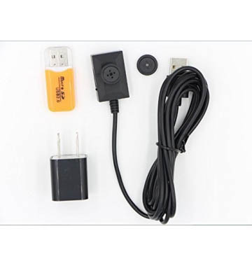 1080P USB Spy Button Camera For 24 Hours Long Recording
