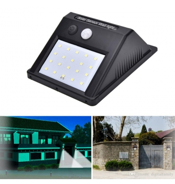 UniZoom solar light outdoors led lamp emergency light outside waterproof wall automatic light super bright