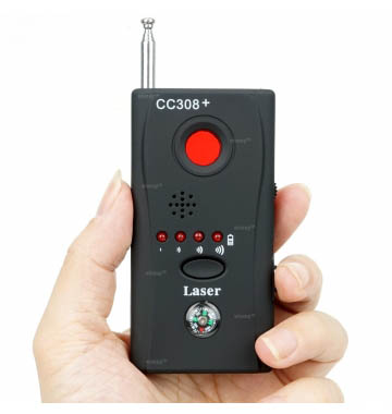 CC-308 Anti Spy Camera Wireless RF Signal Bug Detector