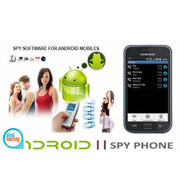 Spy Android software monitor and track Application